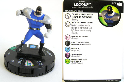 Heroclix - #024 Lock-Up - DC Batman the Animated Series