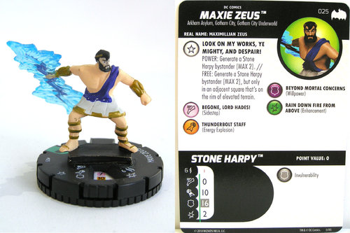 Heroclix - #025 Maxie Zeus - DC Batman the Animated Series