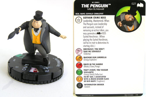 Heroclix - #027 Penguin - DC Batman the Animated Series