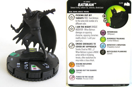Heroclix - #028 Batman - DC Batman the Animated Series