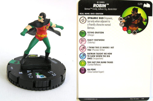 Heroclix - #029 Robin - DC Batman the Animated Series