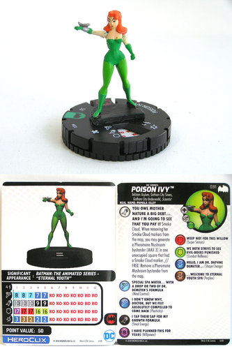 Heroclix - #031 Poison Ivy - DC Batman the Animated Series