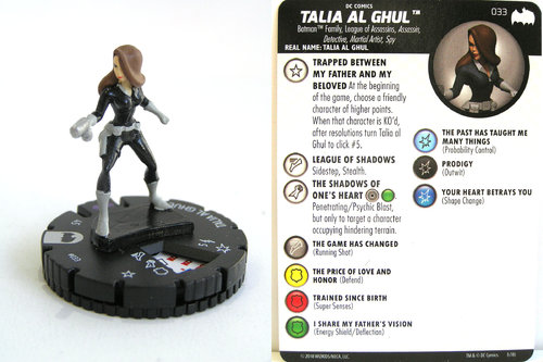 Heroclix - #033 Talia Al Ghul - DC Batman the Animated Series
