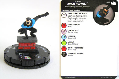 Heroclix - #037 Nightwing - DC Batman the Animated Series