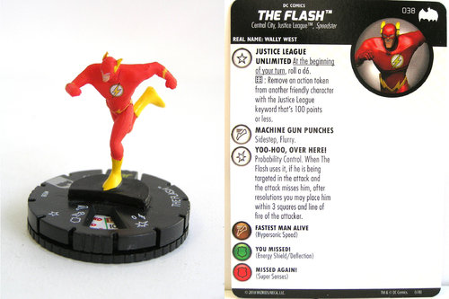 Heroclix - #038 The Flash - DC Batman the Animated Series