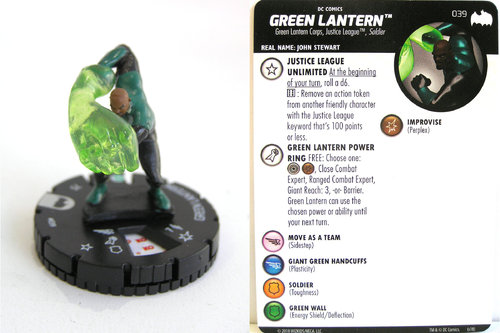 Heroclix - #039 Green Lantern - DC Batman the Animated Series
