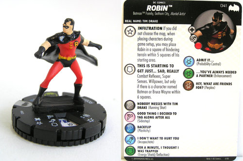 Heroclix - #041 Robin - DC Batman the Animated Series