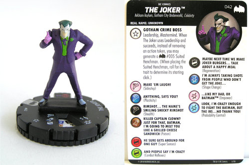 Heroclix - #042 The Joker - DC Batman the Animated Series
