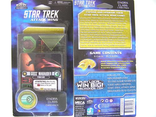 Star Trek Attack Wing - D'Kora Class Card Pack