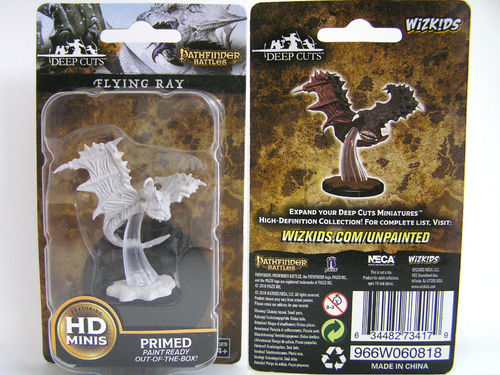 WZK73417 - Pathfinder Deep Cuts Wave 6 - Unpainted Miniatures - Flying Ray