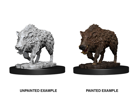 WZK73554 - Pathfinder Deep Cuts Wave 7 - Unpainted Miniatures - Wild Boar