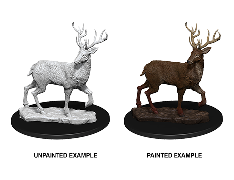 WZK73550 - Pathfinder Deep Cuts Wave 7 - Unpainted Miniatures - Stag