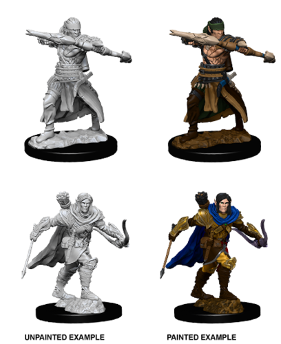 WZK73544 - Pathfinder Deep Cuts Wave 7 - Unpainted Miniatures - Male Half-Elf Ranger