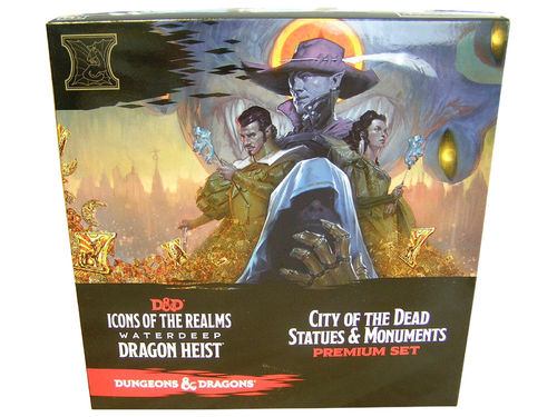 Dungeons&Dragons Icons of the Realms Waterdeep Dragon Heist Case Incentive