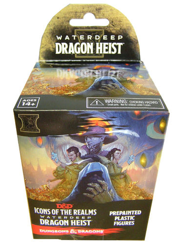 Dungeons&Dragons Icons of the Realms Waterdeep Dragon Heist Booster