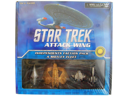 WZK73292 - Star Trek Attack Wing Independents Faction Pack - A Motley Fleet
