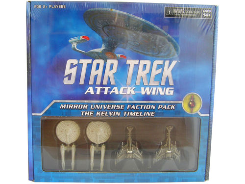 WZK73289 - Star Trek Attack Wing Mirror Universe Faction Pack - The Kelvin Timeline