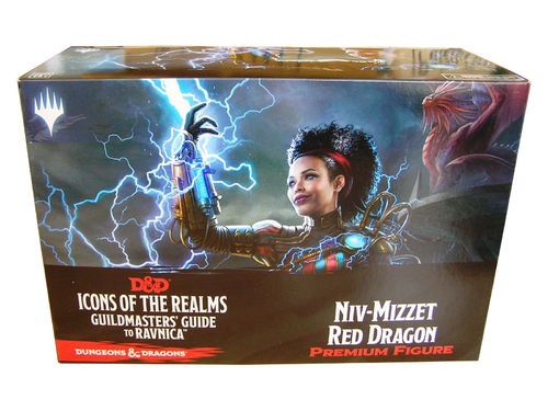Dungeons&Dragons Icons of the Realms Set 10: Guildmasters Guide to Ravnica Case Incentive