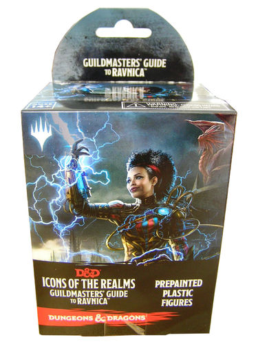 Dungeons&Dragons Icons of the Realms Set 10: Guildmasters Guide to Ravnica Booster Pack