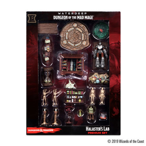 Dungeons&Dragons Icons of the Realms Set 11: Waterdeep Dungeon of the Mad Mage Case Incentive