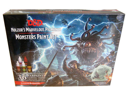 D&D Nolzurs Marvelous Pigments Monster Paint Set - Army Painter