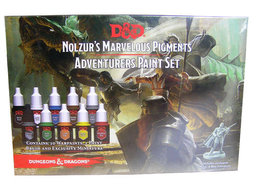 D&D Nolzurs Marvelous Pigments Adventurers Paint Set - Army Painter