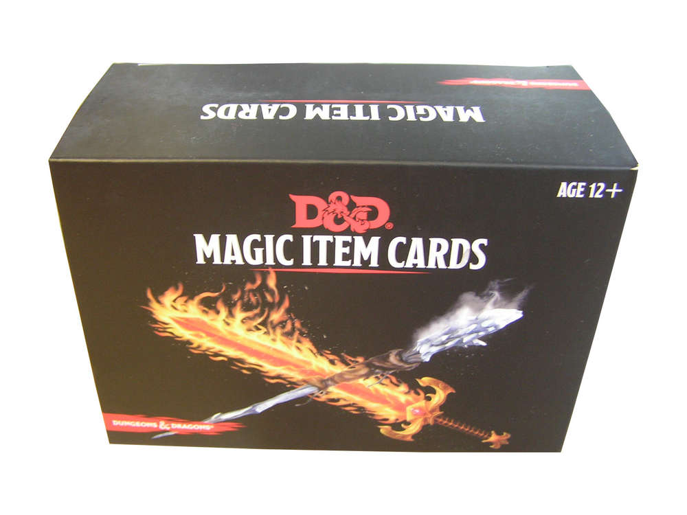 Dungeons & Dragons - Magic Item Cards - mtgandmore de