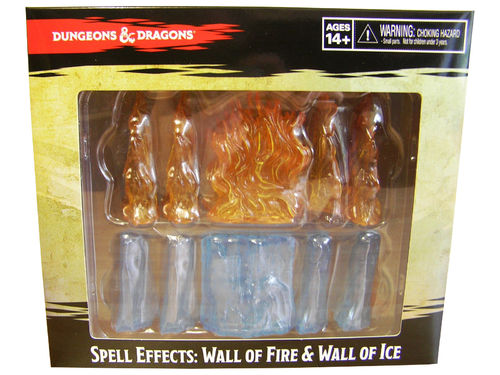 D&D - Spell Effects: Wall of Fire & Wall of Ice