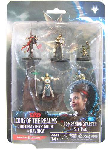 Dungeons&Dragons Icons of the Realms Set 10: Guildmasters Guide to Ravnica Companion Starter Set Two