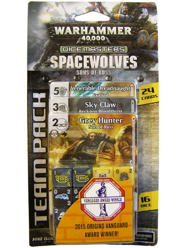 Dice Masters Warhammer 40,000 Spacewolves Sons of Russ Team Pack
