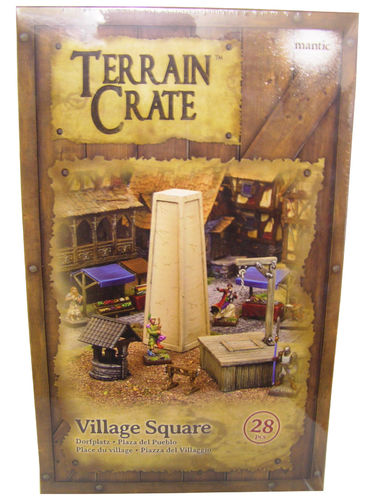 Terrain Crate - Village Square