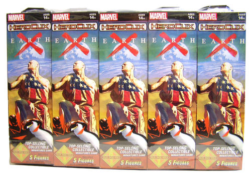 Heroclix Earth X Booster Brick