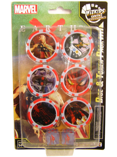 Heroclix Earth X Dice and Token Pack
