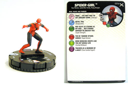 Heroclix - #001a Spider-Girl - Earth X