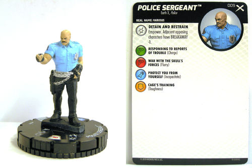 Heroclix - #009 Police Sergeant - Earth X