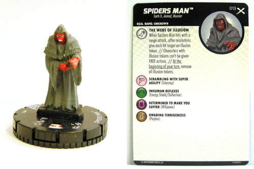 Heroclix - #013 Spiders Man - Earth X