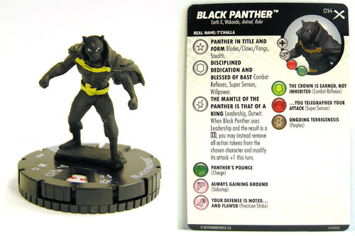 Heroclix - #014 Black Panther - Earth X
