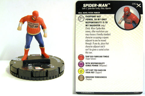 Heroclix - #015 Spider-Man - Earth X