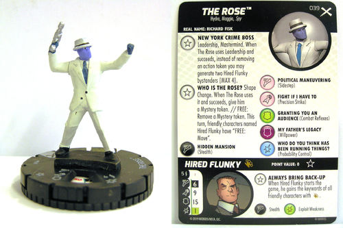 Heroclix - #039 The Rose - Earth X