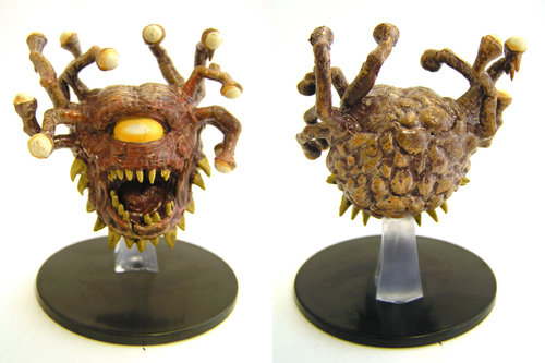D&D - #029 Beholder Zombie Large Figure - Waterdeep Dungeon of the Mad Mage
