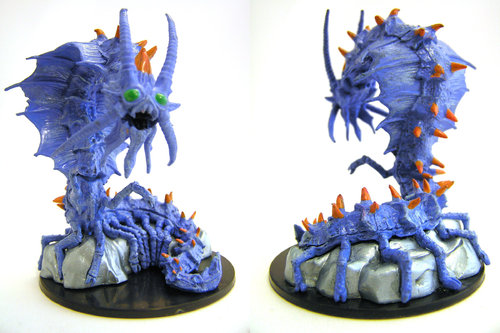 D&D - #042 Adult Remorhaz Large Figure - Waterdeep Dungeon of the Mad Mage