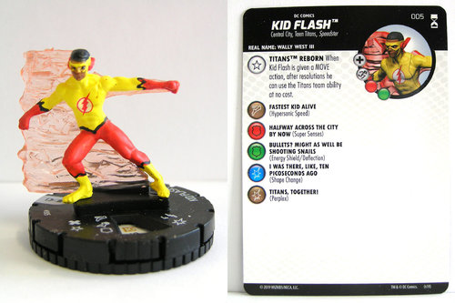 HeroClix - #005 Kid Flash - DC Rebirth