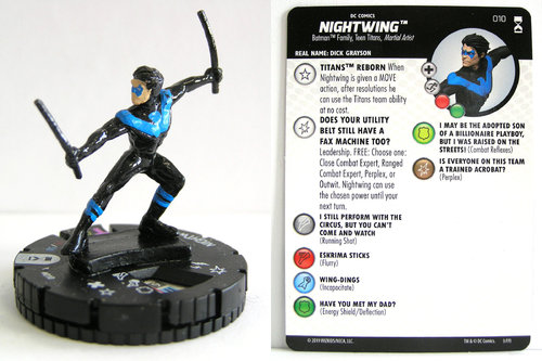 HeroClix - #010 Nightwing - DC Rebirth