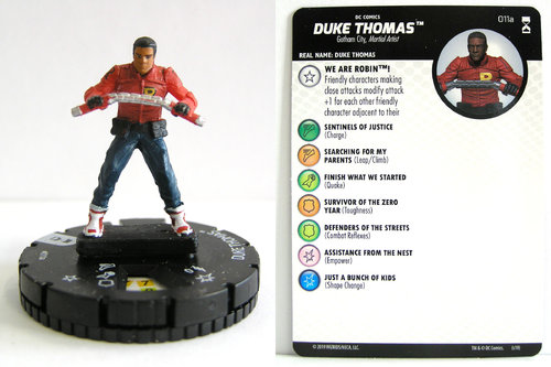 HeroClix - #011a Duke Thomas - DC Rebirth