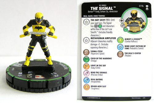 HeroClix - #011b The Signal - DC Rebirth