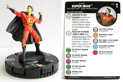 HeroClix - #016 Super-Man - DC Rebirth