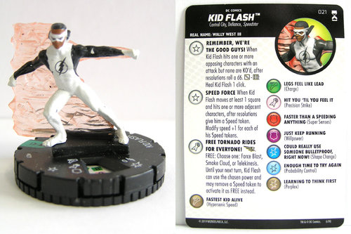 HeroClix - #021 Kid Flash - DC Rebirth