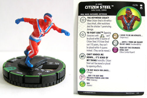 HeroClix - #023b Citizen Steel - DC Rebirth
