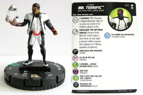 HeroClix - #029 Mr. Terrific - DC Rebirth