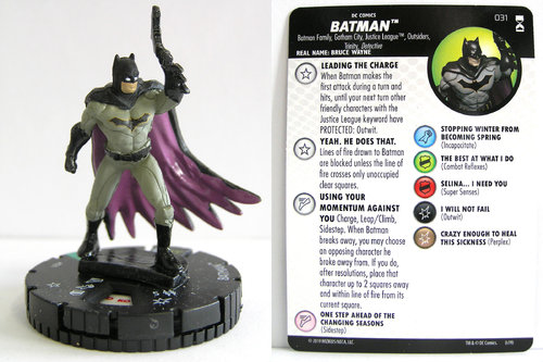 HeroClix - #031 Batman - DC Rebirth